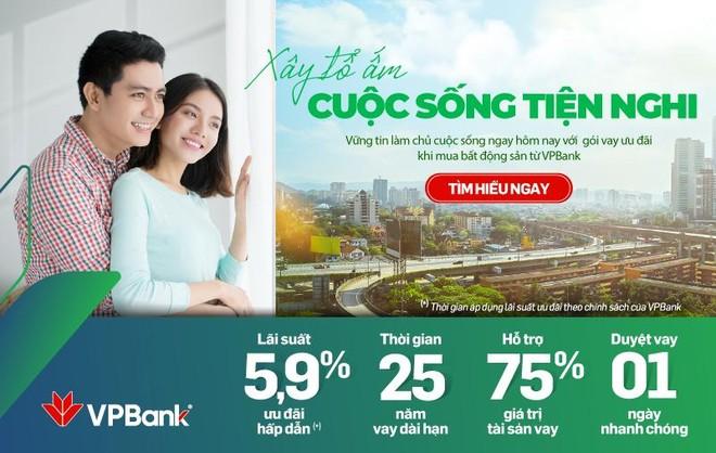 Mua nhà dễ dàng với lãi suất ưu đãi chỉ từ 5,9% tại VPBank ảnh 1