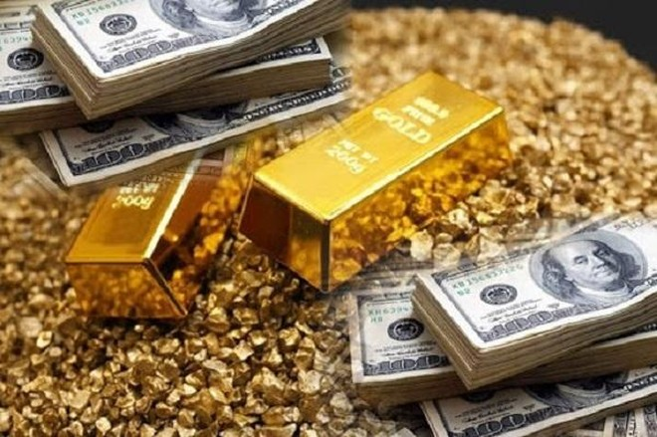 Giá vàng quay đầu giảm, rời đỉnh 1.900 USD/oune ảnh 1