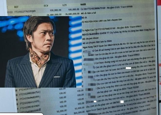 MB tìm ra người làm lộ thông tin tài khoản nghệ sĩ Hoài Linh, gửi hồ sơ sang Công an ảnh 1