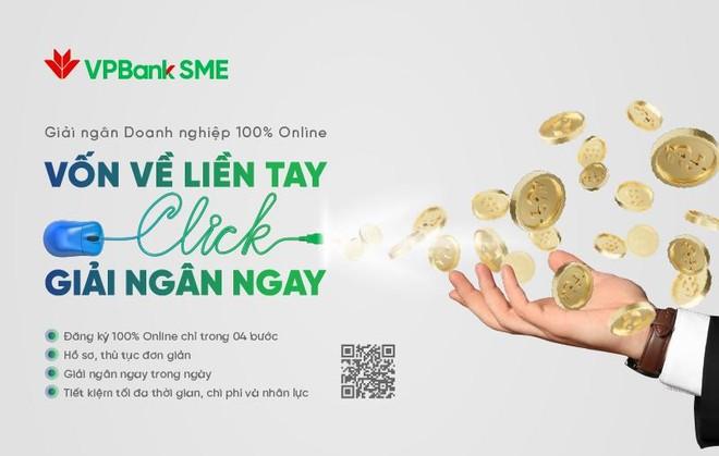 VPBank ra mắt dịch vụ đột phá đối với SME: Giải ngân 100% online ảnh 1