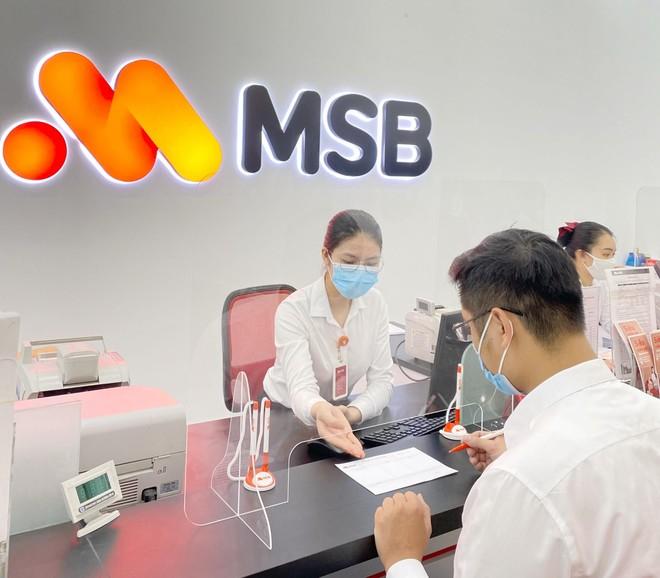 Dư nợ cho vay tăng 15%, MSB hoàn thành 95% lợi nhuận trong 6 tháng đầu năm ảnh 1