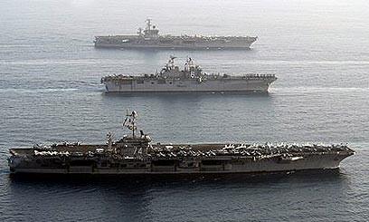 Mỹ tập trận giả định Israel tấn công Iran ảnh 1