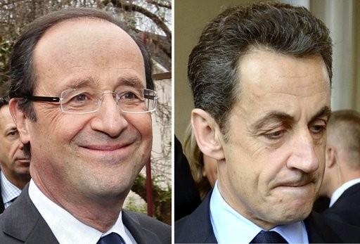 Bầu cử Tổng thống Pháp: Ông Hollande và ông Sarkozy vào vòng 2 ảnh 1