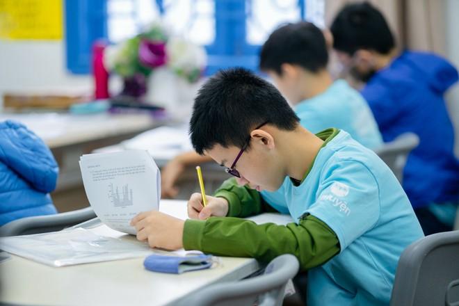 Kì thi Toán học Hoa Kỳ thúc đẩy niềm đam mê toán học cho học sinh THCS ảnh 5