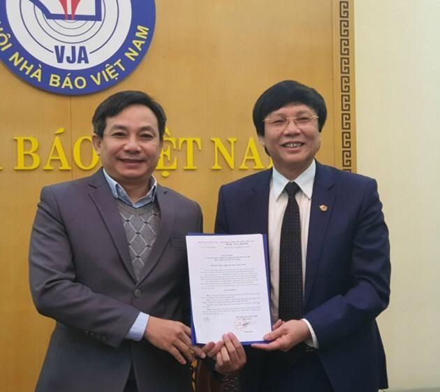 Hội Nhà báo Việt Nam giao quyền Chánh Văn phòng cho ông Phan Toàn Thắng ảnh 1
