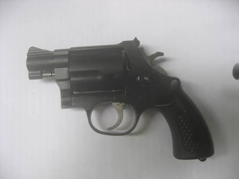 Cảnh sát khu vực Q.Hai Bà Trưng được trang bị súng đa năng ảnh 1