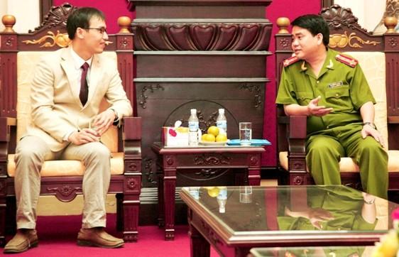 Ban Chấp sự mới của Hội thánh Tin lành Hà Nội chúc mừng CATP Hà Nội ảnh 1
