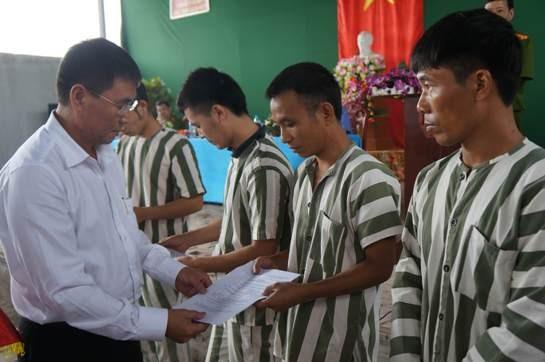 211 phạm nhân tại Hà Nội được giảm án, tha tù ảnh 1