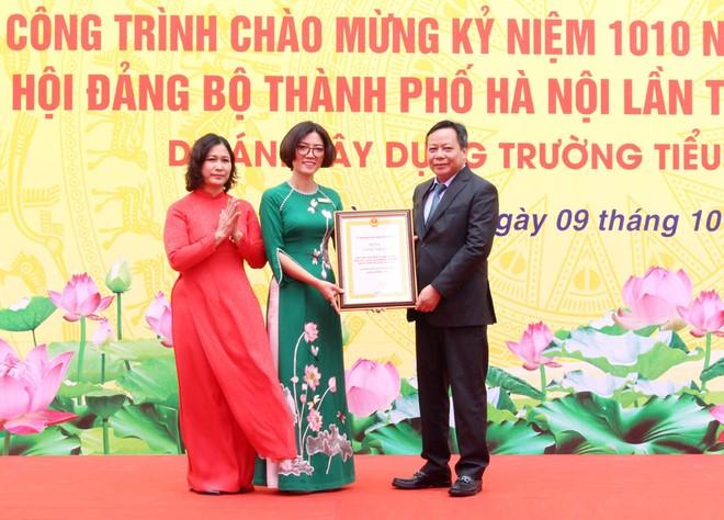 Khánh thành trường học chào mừng kỷ niệm 1010 năm Thăng Long - Hà Nội ảnh 1