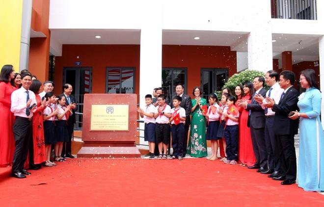 Khánh thành trường học chào mừng kỷ niệm 1010 năm Thăng Long - Hà Nội ảnh 2