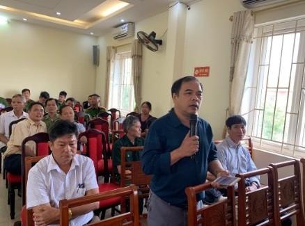 Công an huyện Gia Lâm (Hà Nội): Lắng nghe ý kiến nhân dân để ngày càng hoàn thiện ảnh 2