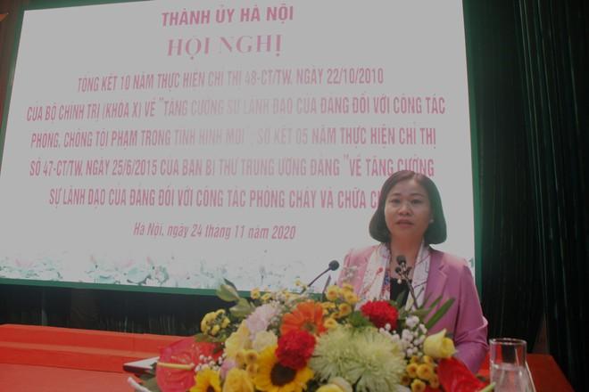 Công tác đấu tranh, phòng chống tội phạm của Hà Nội vượt chỉ tiêu Nghị quyết Quốc hội đề ra ảnh 1