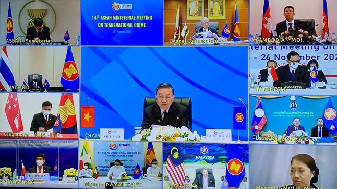 Thông qua tuyên bố chung của Hội nghị Bộ trưởng ASEAN về phòng, chống tội phạm xuyên quốc gia lần thứ 14 ảnh 2