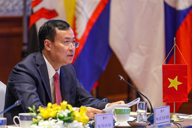 Thông qua tuyên bố chung của Hội nghị Bộ trưởng ASEAN về phòng, chống tội phạm xuyên quốc gia lần thứ 14 ảnh 3