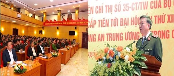 Tập trung thực hiện 3 nhiệm vụ đột phá trong Nghị quyết Đại hội Đảng bộ Công an Trung ương ảnh 1
