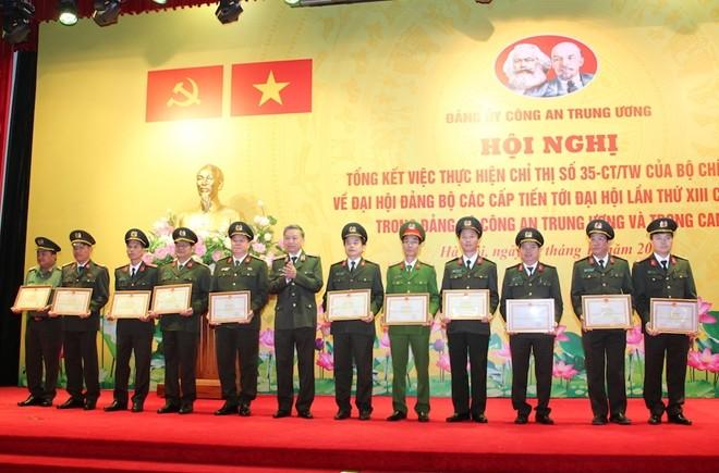 Tập trung thực hiện 3 nhiệm vụ đột phá trong Nghị quyết Đại hội Đảng bộ Công an Trung ương ảnh 3