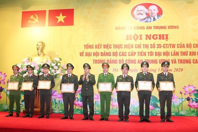 Tập trung thực hiện 3 nhiệm vụ đột phá trong Nghị quyết Đại hội Đảng bộ Công an Trung ương ảnh 4