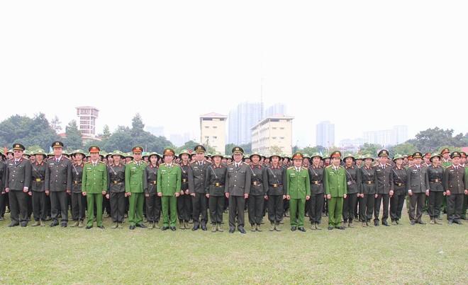 Hơn 2.000 tân học viên các trường Công an nhân dân được huấn luyện đầu khóa ảnh 1