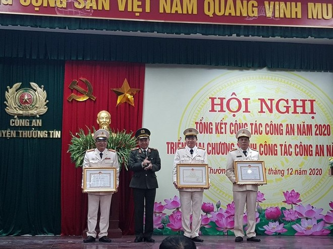 Công an huyện Thường Tín, Hà Nội: Xây dựng giải pháp thực hiện thắng lợi nhiệm vụ đảm bảo an ninh trật tự ảnh 1