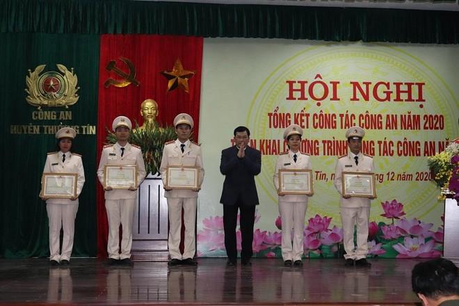 Công an huyện Thường Tín, Hà Nội: Xây dựng giải pháp thực hiện thắng lợi nhiệm vụ đảm bảo an ninh trật tự ảnh 2