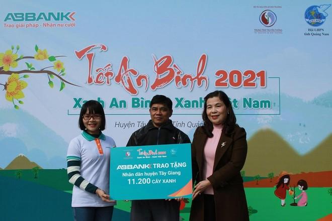 """Tết An Bình 2021 """"phủ xanh"""" vùng biên giới huyện Tây Giang (Quảng Nam) ảnh 1"""