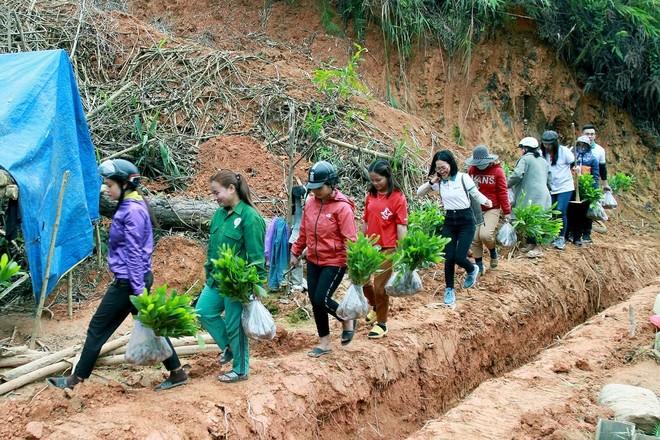 """Tết An Bình 2021 """"phủ xanh"""" vùng biên giới huyện Tây Giang (Quảng Nam) ảnh 2"""