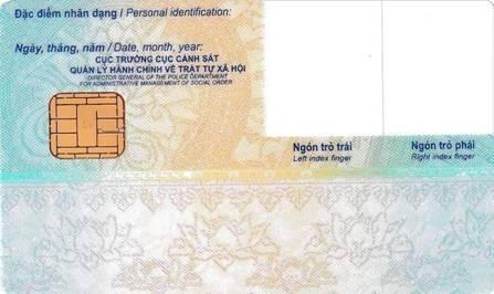 Bộ Công an quy định về mẫu Thẻ căn cước công dân gắn chip điện tử ảnh 2