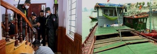 Triệt phá 5 ổ nhóm câu kết, ăn chặn hàng chục tỷ đồng của các nhà tàu trên vịnh Hạ Long ảnh 1