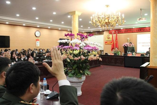 Giám đốc CATP Hà Nội được giới thiệu ứng cử đại biểu Quốc hội khóa XV ảnh 2