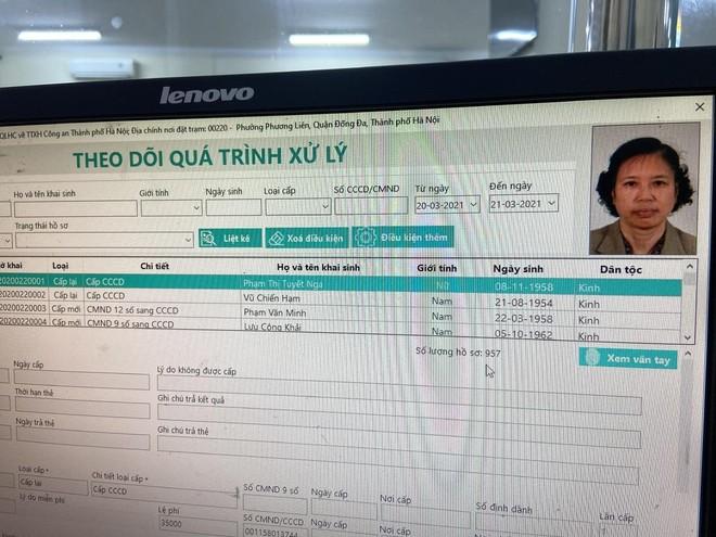 Lực lượng Quản lý hành chính Công an Hà Nội: Thiết lập 'kỷ lục' xử lý căn cước công dân gắn chip ảnh 11