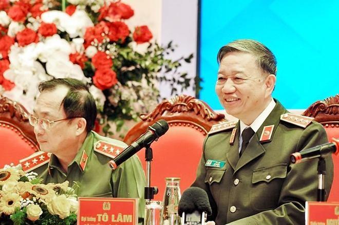 Đại tướng Tô Lâm - Bộ trưởng Bộ Công an đối thoại với đoàn viên thanh niên CAND ảnh 2