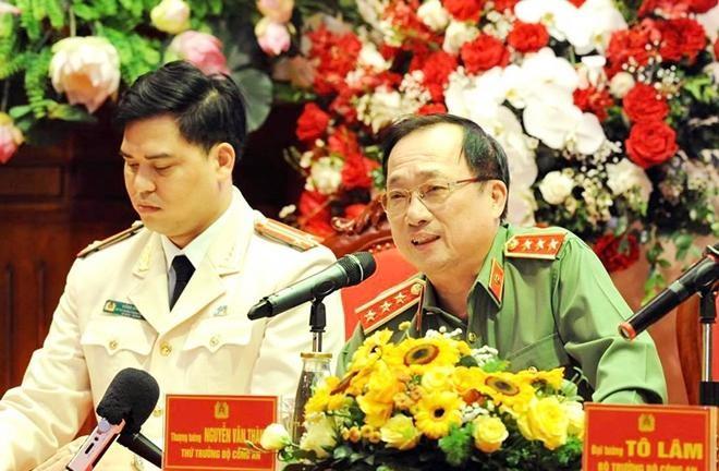 Đại tướng Tô Lâm - Bộ trưởng Bộ Công an đối thoại với đoàn viên thanh niên CAND ảnh 4