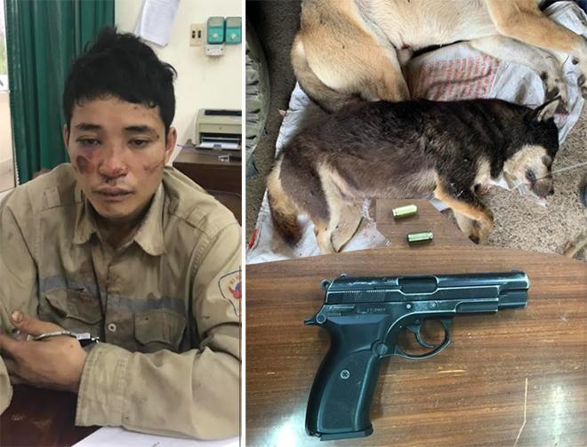 Trộm chó, dùng súng bắn đạn cao su chống trả Cảnh sát ảnh 1