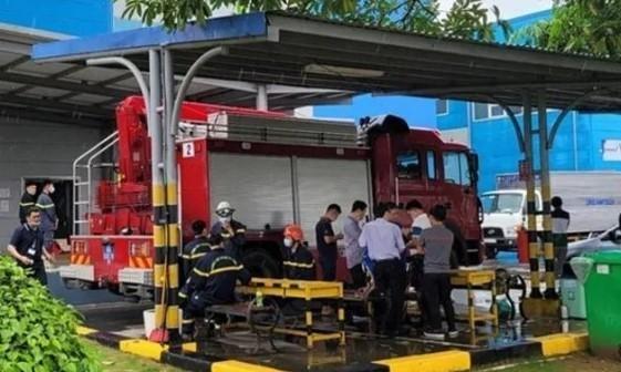 Hỗ trợ gia đình 3 công nhân thiệt mạng trong vụ cháy giữa đêm tại khu công nghiệp ở Bắc Ninh ảnh 1