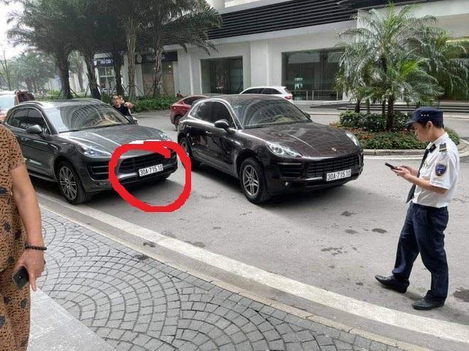 Cơ quan Công an thông tin ban đầu về vụ 2 xế hộp Porsche cùng biển số 'đụng' nhau tại Times City ảnh 1