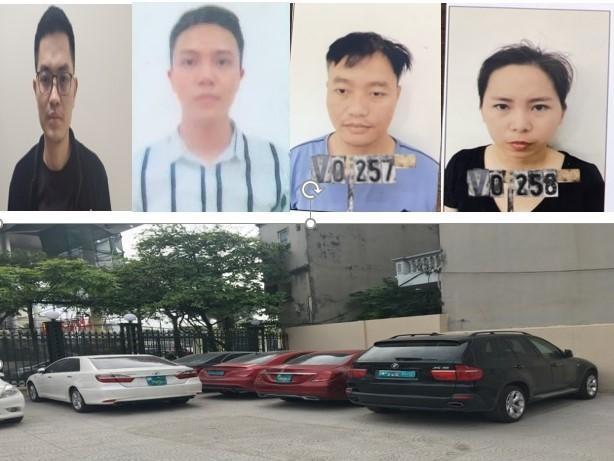 Công an quận Hà Đông (Hà Nội): Từ vụ 2 xe ô tô Mercedes cùng biển số 'chạm' nhau, bóc gỡ đường dây làm giả giấy tờ, tiêu thụ xe gian ảnh 1
