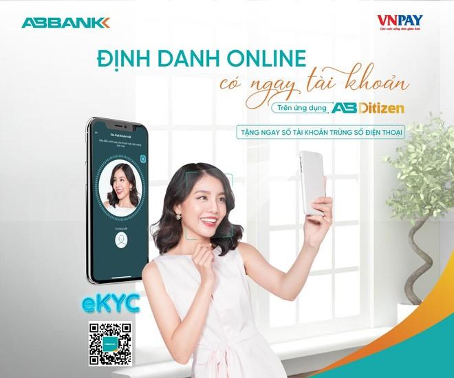 Ngân hàng số AB Ditizen: định danh điện tử nhanh chóng, sở hữu số tài khoản trùng số điện thoại và 0 đồng phí dịch vụ ảnh 1
