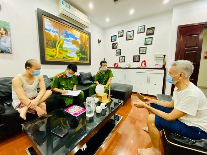 Xuyên đêm thực hiện Mệnh lệnh của Giám đốc Công an Hà Nội – rà soát người nhập cảnh, cư trú trái phép ảnh 5