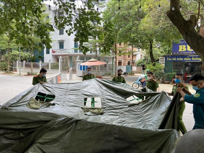 Hà Nội: Vững lòng sắc xanh ở những 'điểm nóng' dịch bệnh Covid-19 ảnh 3