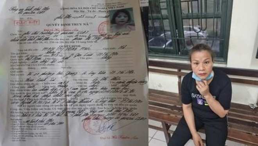 Người đàn bà trốn bản án 25 năm, bị truy nã đặc biệt ảnh 1