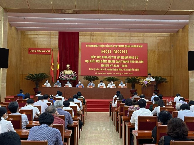 """Chung sức, đồng lòng cùng nhân dân xây dựng quận Hoàng Mai trở thành """"nơi đáng sống"""" ảnh 2"""
