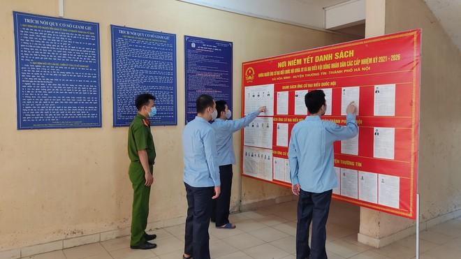Trại tạm giam số 2 – CATP Hà Nội: Đảm bảo 100% cử tri thực hiện quyền và nghĩa vụ bầu cử ảnh 1