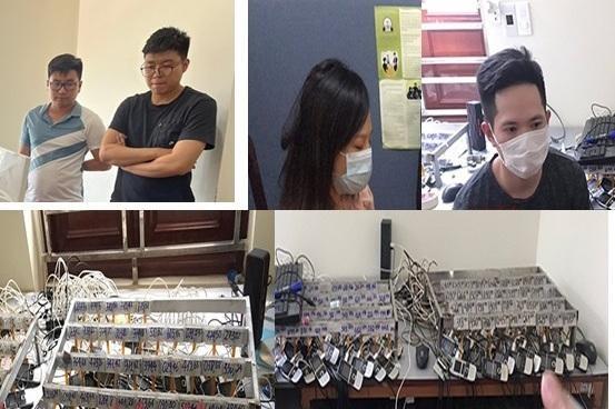 Lực lượng an ninh mạng triệt phá ổ nhóm chuyên phát tán tin nhắn rác ảnh 1