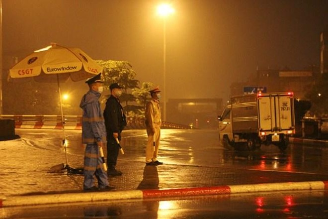 Hà Nội: Triển khai 22 chốt kiểm soát tại các cửa ngõ lớn ra vào thành phố ảnh 1