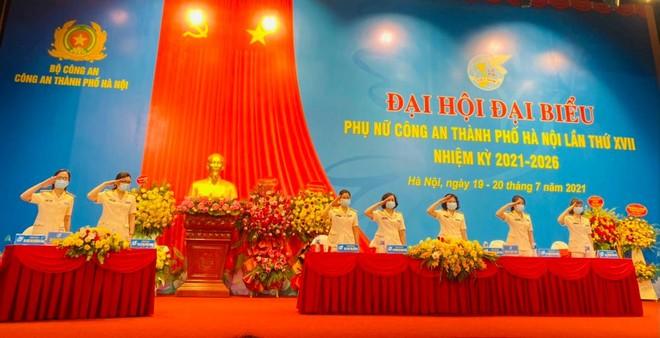 Đại hội đại biểu phụ nữ CATP Hà Nội nhiệm kỳ 2021 – 2026 thành công tốt đẹp ảnh 1