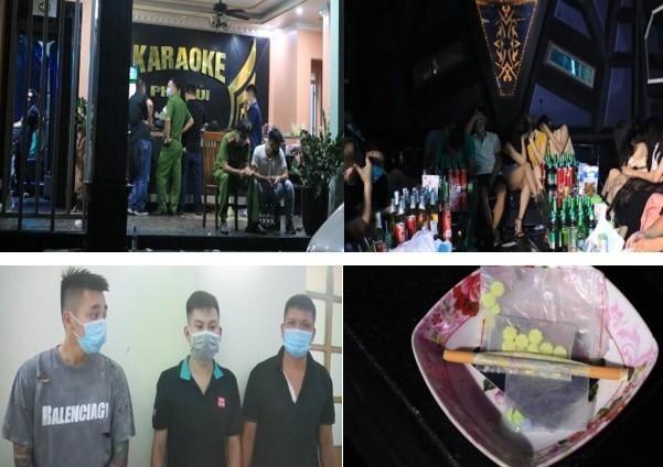 Hàng chục dân chơi 'bay lắc' mừng sinh nhật trong phòng VIP quán karaoke ảnh 1