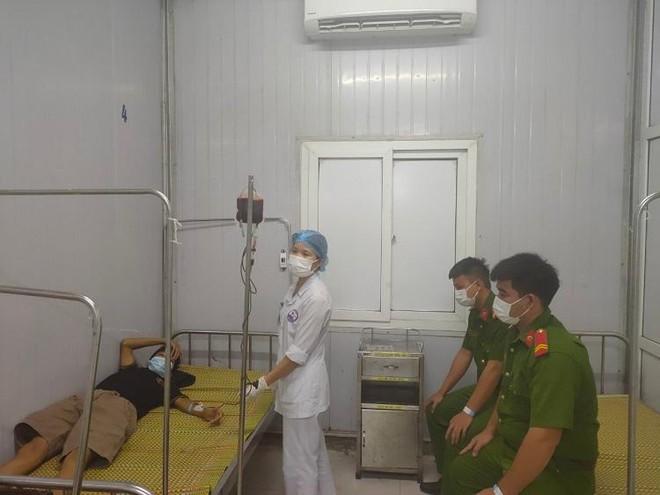 Bốn chiến sỹ Công an hiến máu cấp cứu đối tượng phạm tội ma túy ảnh 1