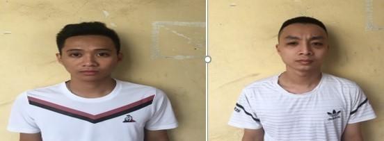 Hai gã trai chuyên đòi nợ bằng sơn trộn mắm tôm ảnh 1