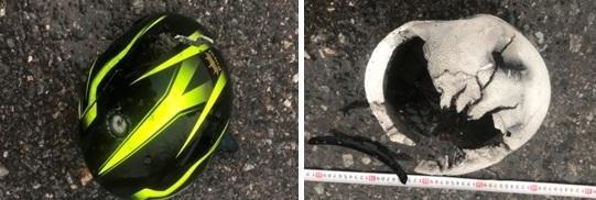Vụ 2 người bị sét đánh tử vong tại Hà Nội: Cháy xém mũ bảo hiểm và da đầu ảnh 1