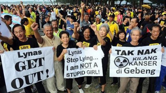 Malaysia phản đối nhà máy xử lý đất hiếm ảnh 1
